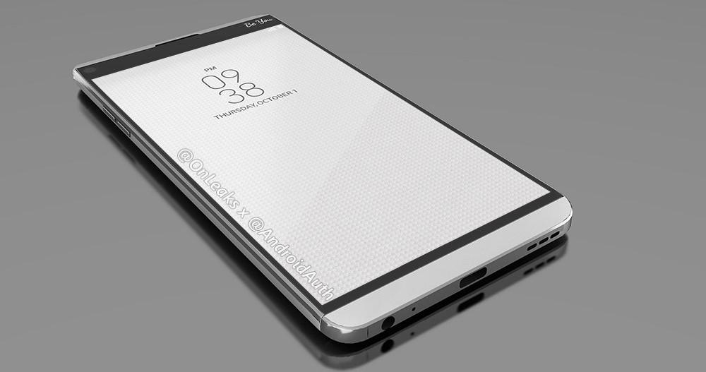 LG V20 será elegante y atractivo