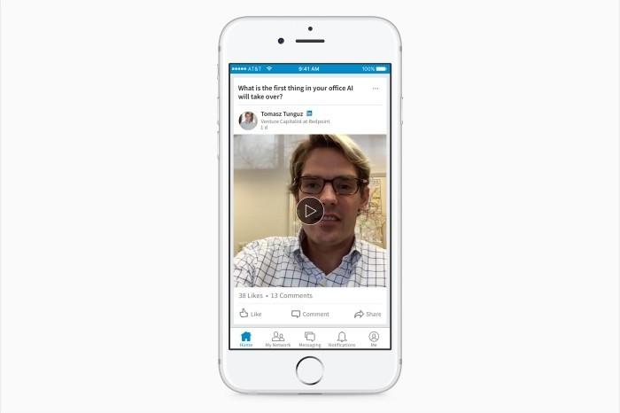 LinkedIn video