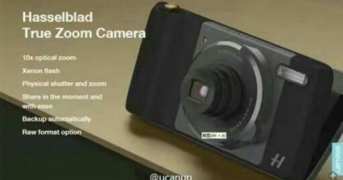 Módulo de cámara Hasselbad para Moto Z