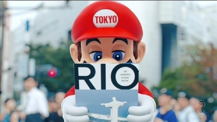 Mario Bros Río 2016 Juegos Olímpicos