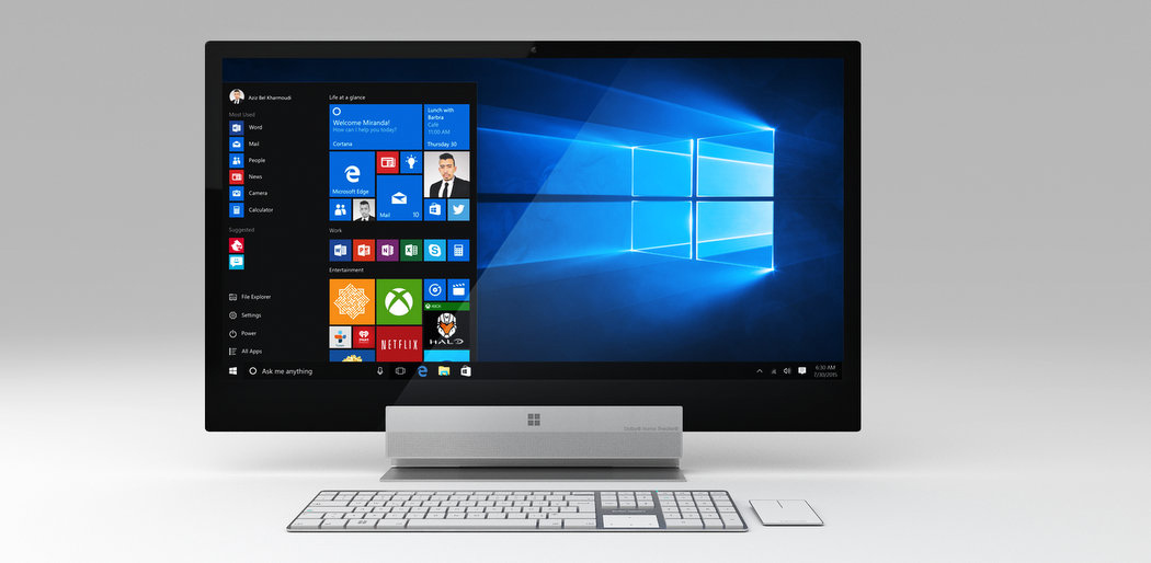 Surface Studio sería presentado esta semana