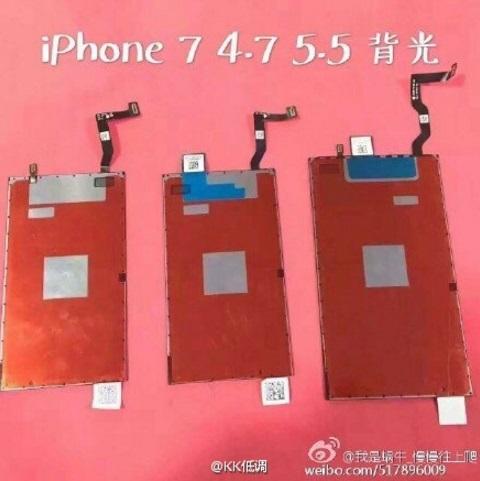 Nuevas pantallas en iPhone 7 1