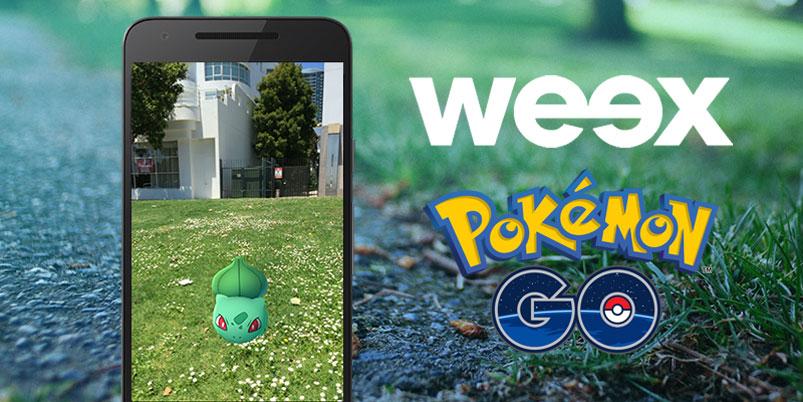 Weex fue la primera compañía en ofrece paquetes con Pokémon Go ilimitado