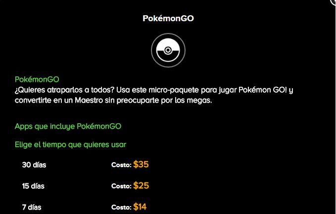 Pokemon go costos weex