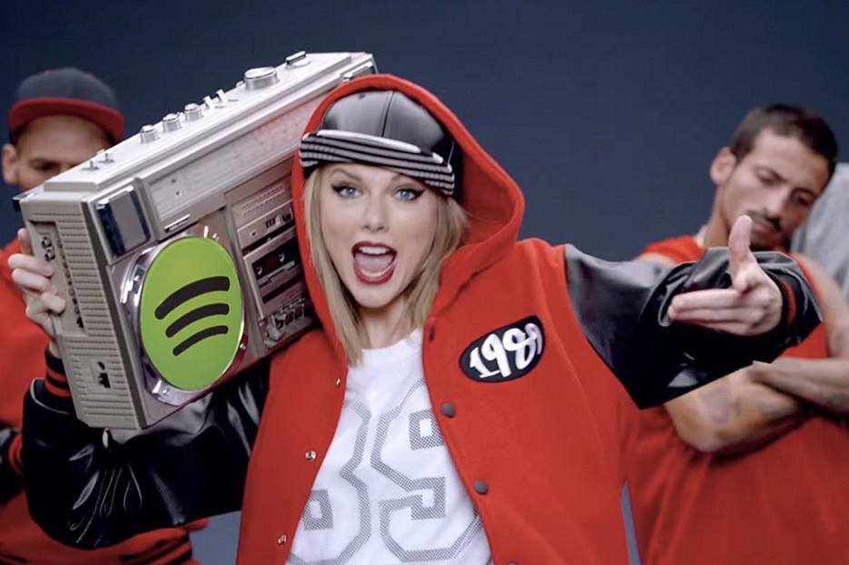 Spotify tiene problemas y no es con Taylor