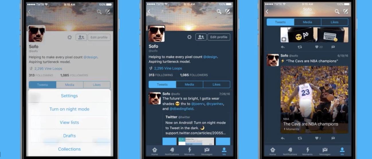 Twitter-Night-Mode-interfaz