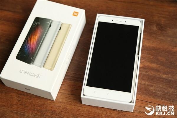 Unboxing Xiaomi Redmi Note 4