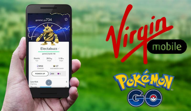 Virgin Mobile México se suma a la euforia de Pokémon Go