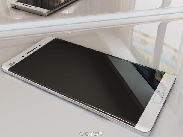 Xiaomi Mi Note 2 filtración