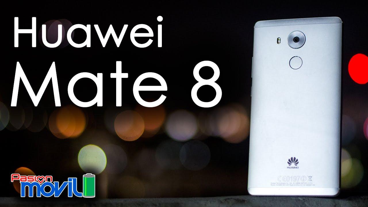 Huawei Mate 8 es un móvil que debes tomar en cuenta