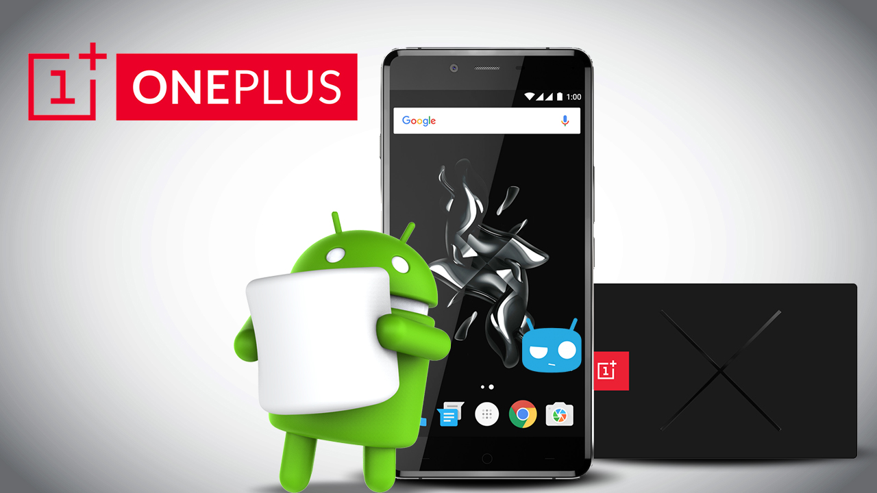 OnePlus X recibe su porción de Marshmallow