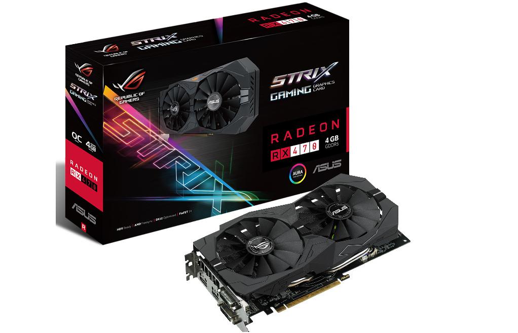 ASUS Strix RX 470 es oficial