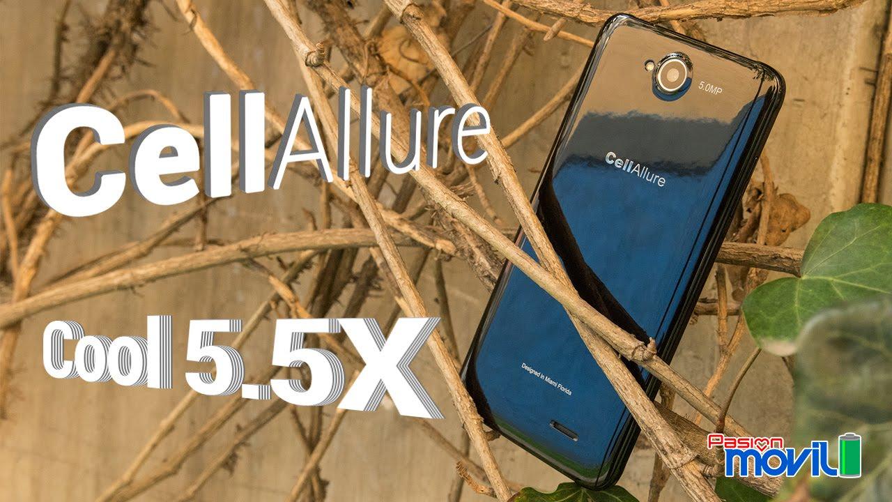 Conoce al CellAllure Cool 5.5X