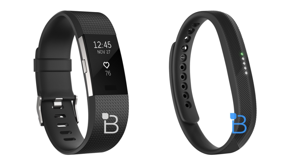 fitbit charge 2 y flex2