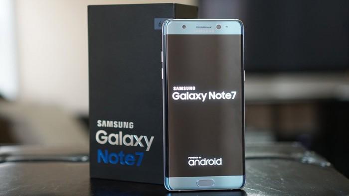 Galaxy Note 7 ya está en preventa