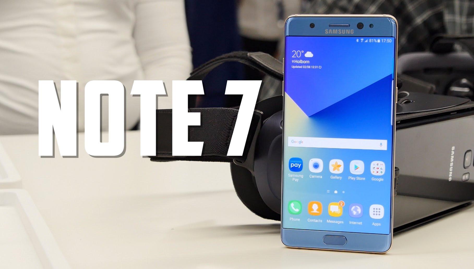 Galaxy Note 7 pronto tendrá una variante más potente y capaz