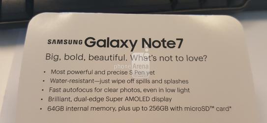 galaxy note 7sprint