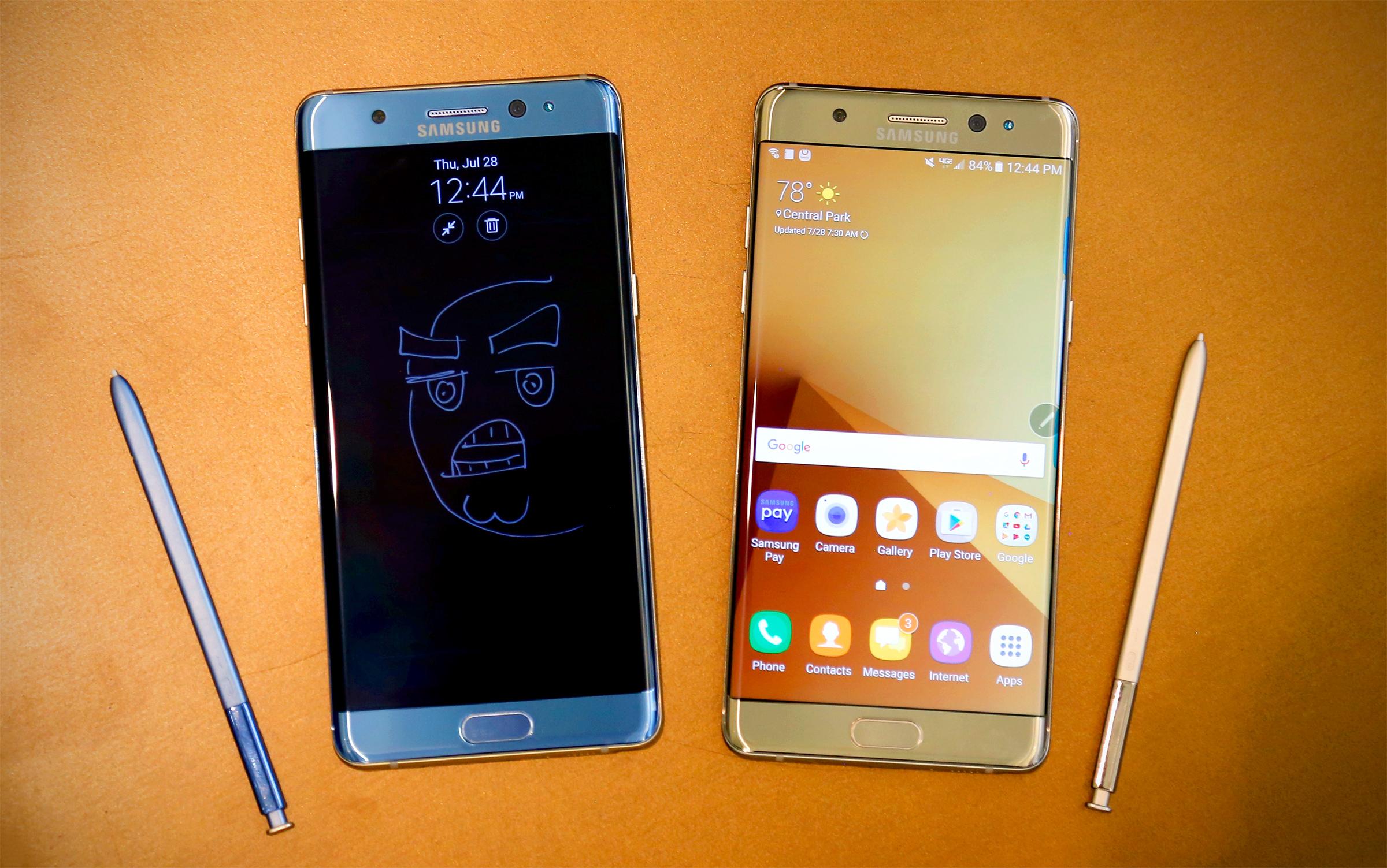 Conoce al nuevo Samsung Galaxy Note 7