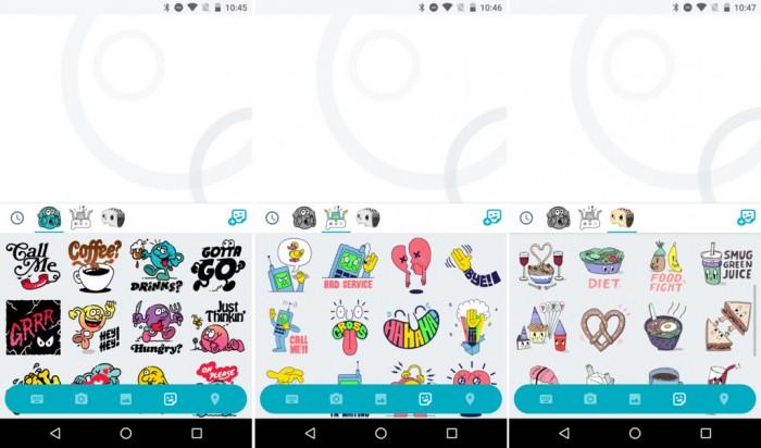 Google Allo llegará con una gran variedad de stickers