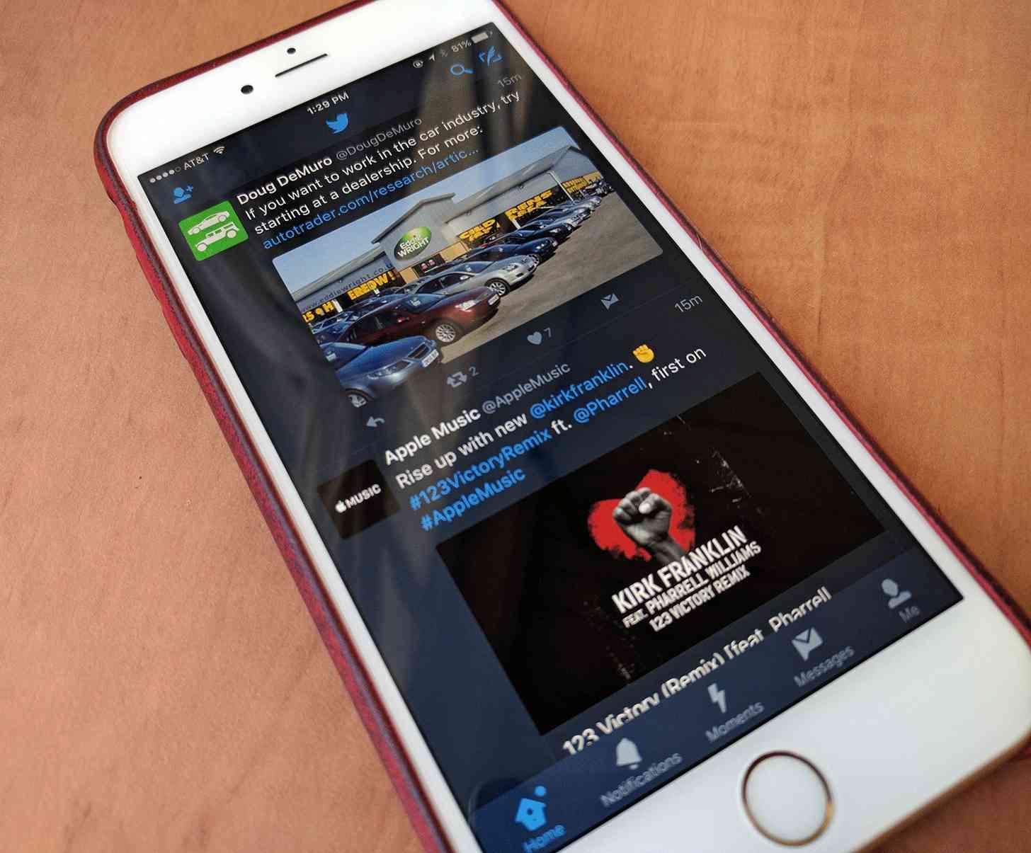 Twitter para iOS estrena el Modo Nocturno