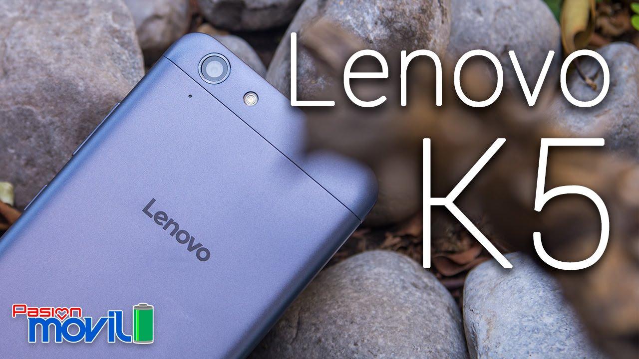 Lenovo K5 tiene una buena relación costo-beneficio
