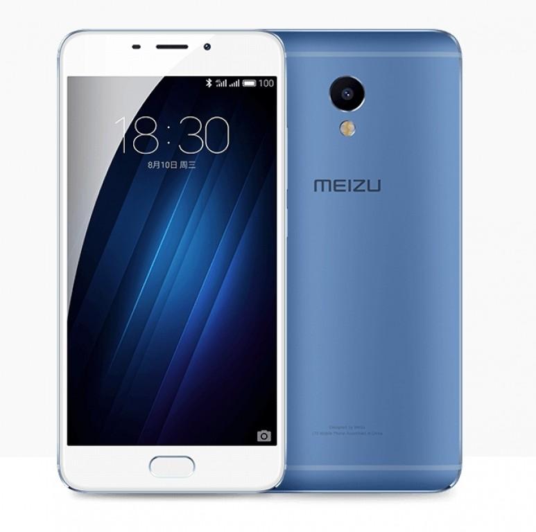 meizu m3E azul portada