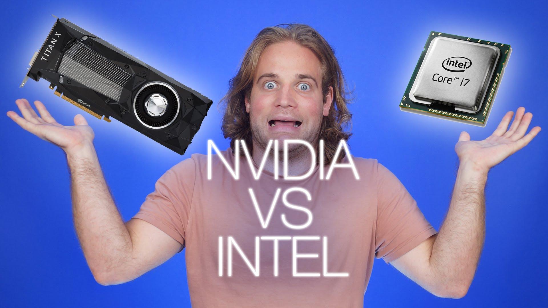 NVIDIA  afirma que Intel hizo trampa en unos benchmaks