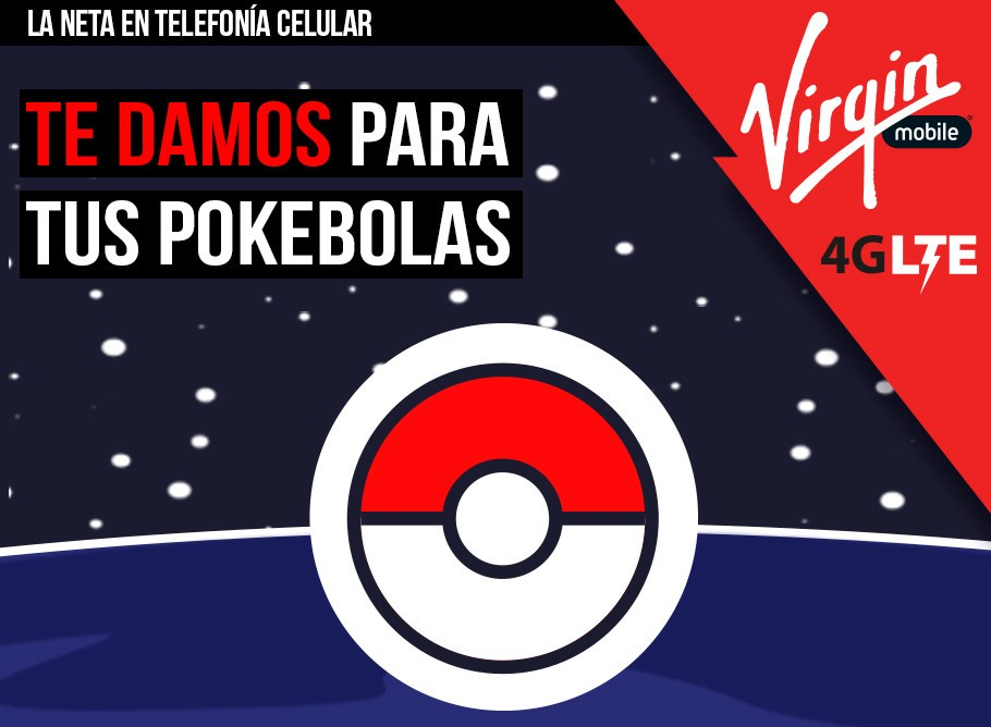 pokemon Go virgin mobile paquetes
