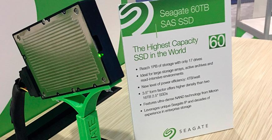 Conoce al SSD con mayor capacidad del mundo