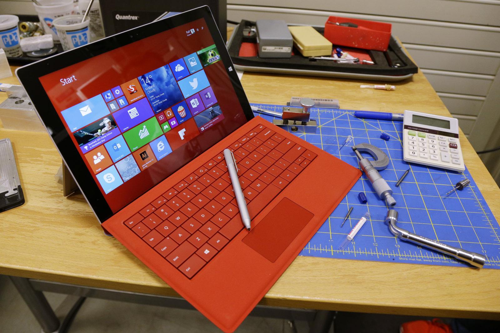 Surface Pro 3 ha tenido algunas fallas últimamente