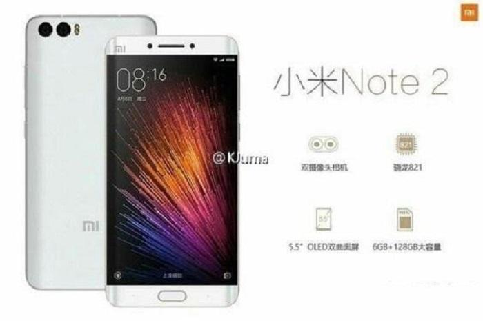 Xiaomi Mi Note sería anunciado en los próximos 2 meses