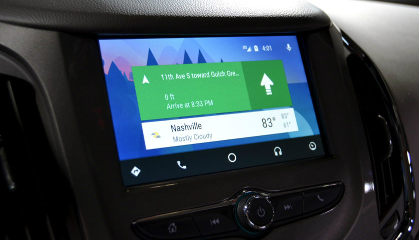 Android Auto sigue creciendo a paso lento