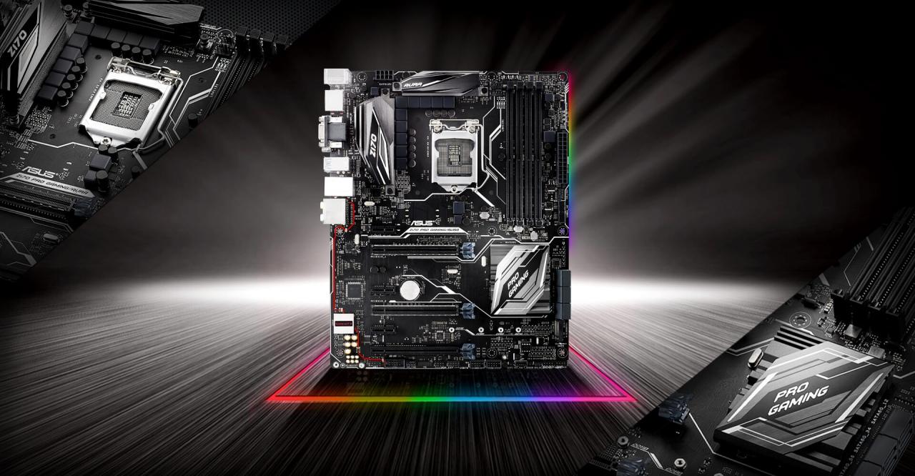 Conoce la ASUS Z170 Pro Gaming Aura