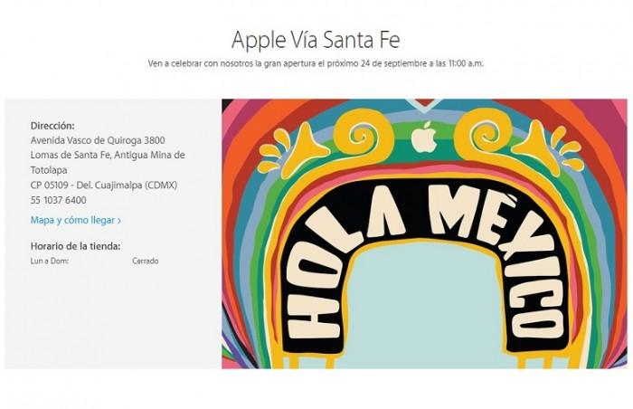 Apertura tienda Apple en México