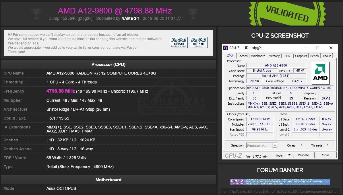 Asus-Octopus-OC-AMD-A12-9800-validacion