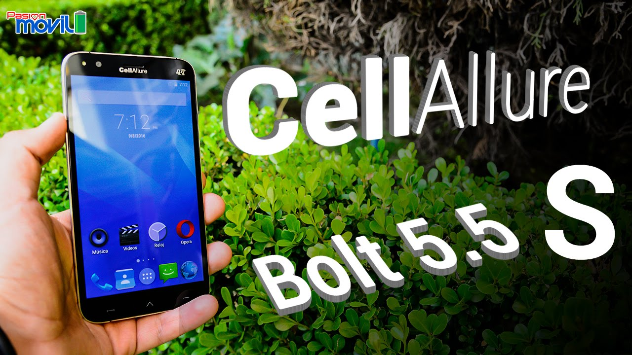 Conoce al CellAllure Bolt 5.5S