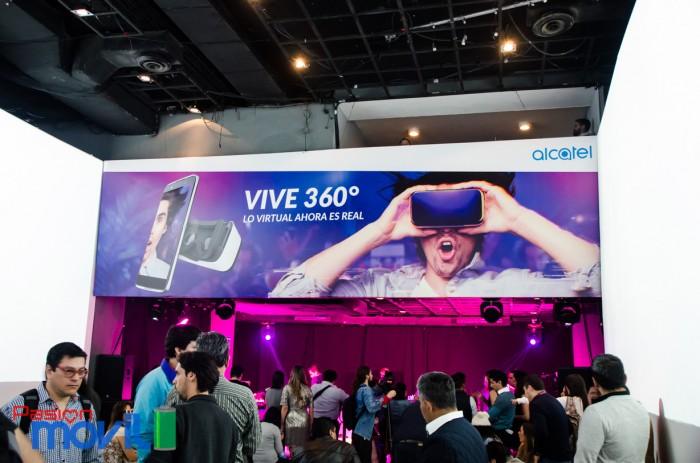 Evento Alcatel Idol 4 con VR en México Marca-16