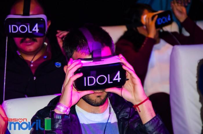 Evento Alcatel Idol 4 con VR en México Marca-17