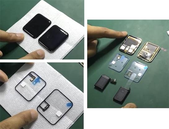 Filtración pantalla Apple Watch 2