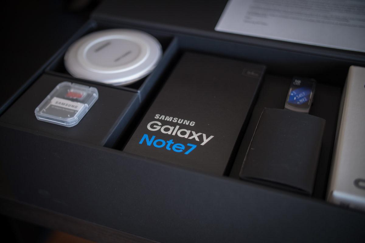 Galaxy Note 7 sigue dando de que hablar