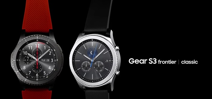 Gear S3 frontier classic