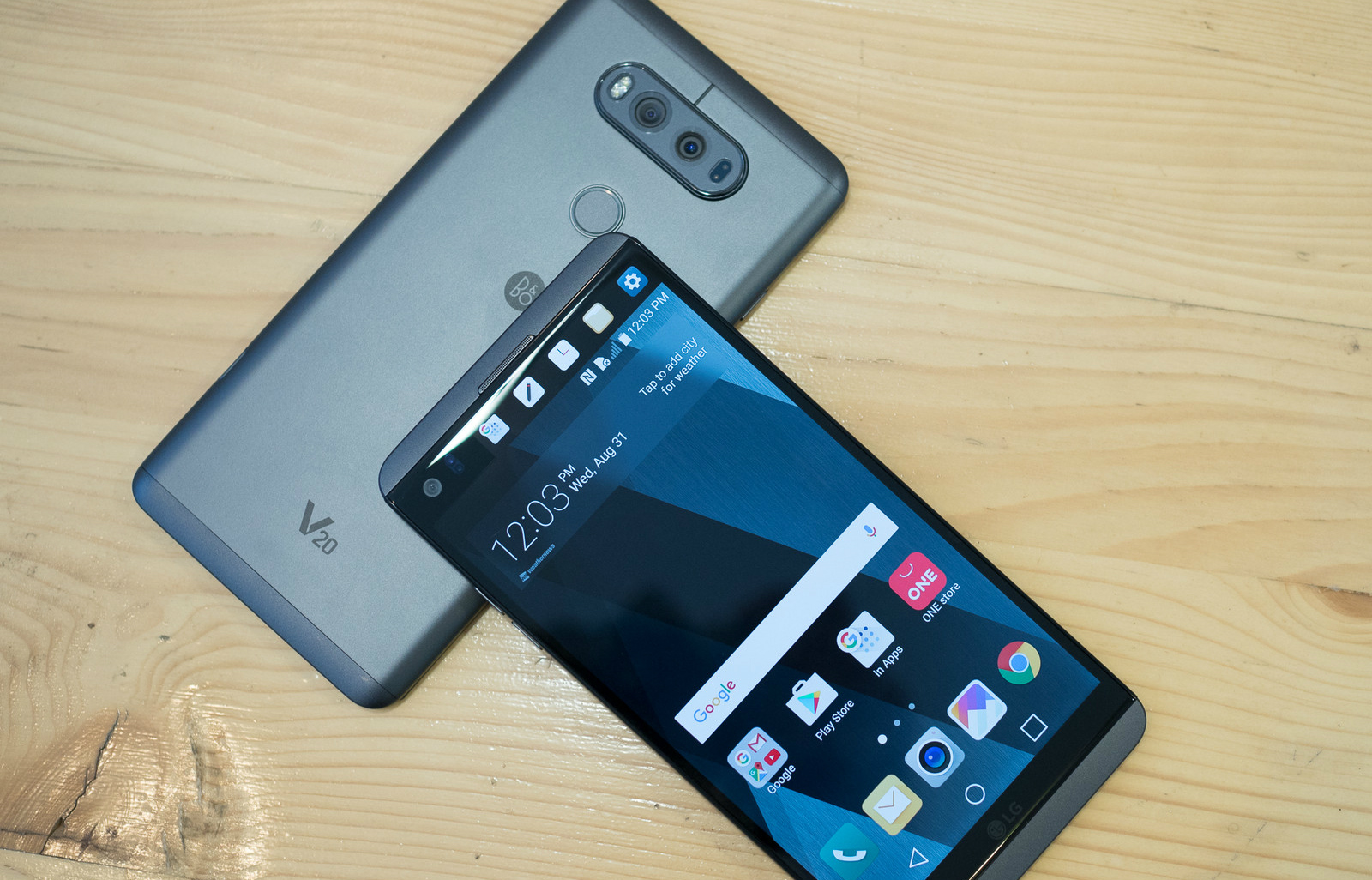 LG V20 combina increíbles prestaciones en hardware y software