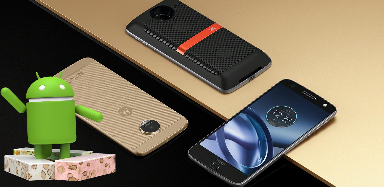 Moto Z pronto gozará de Android Nougat