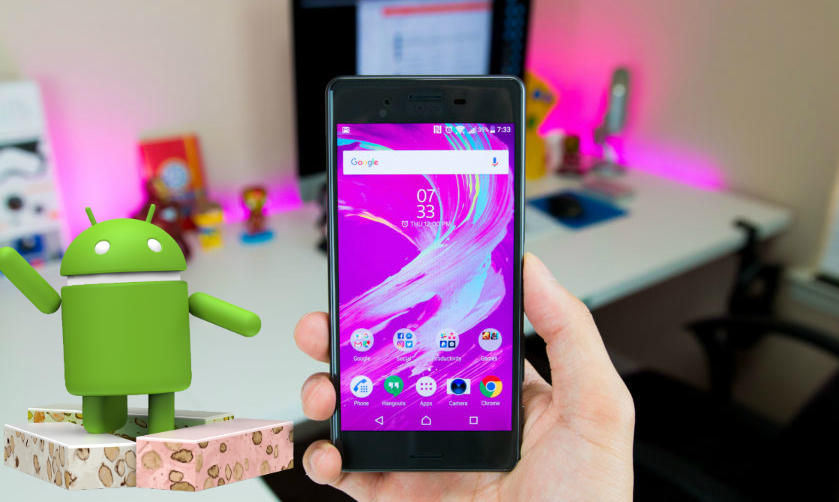 Sony comenzará a actualizar a Android 7.0 Nougat