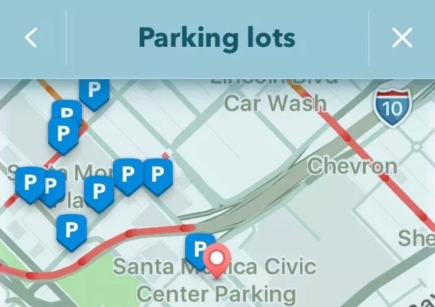 Where to park nueva función de Waze
