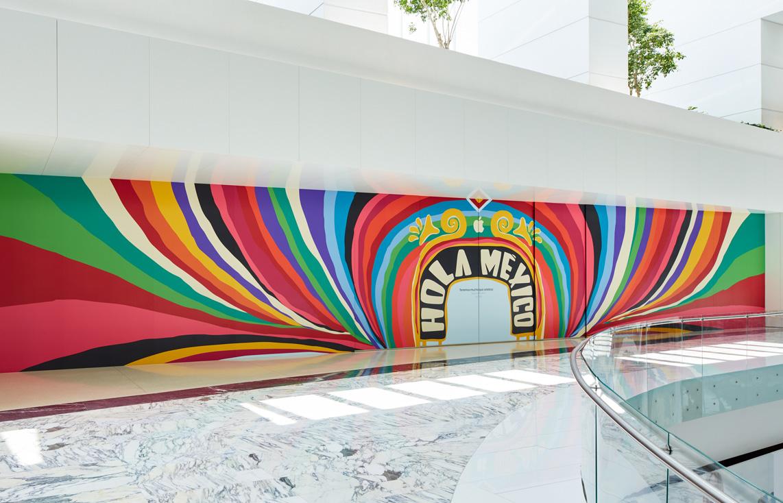 Así luce la primera Apple Store en México