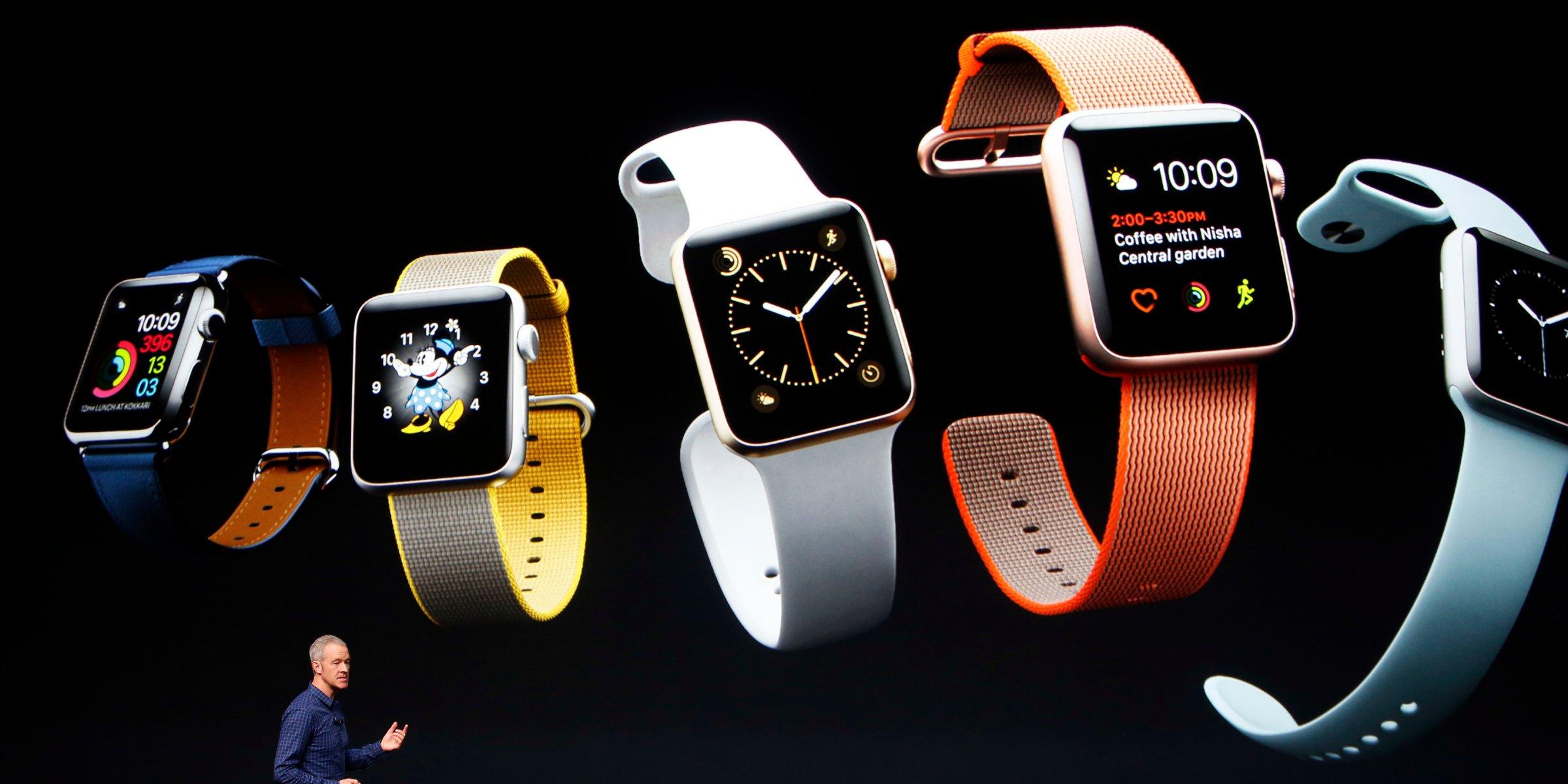 Apple Watch Series 2 viene con algunos cambios menores