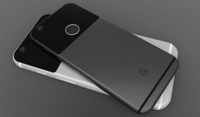 Así lucirían los teléfonos Pixel, solamente añade el flash LED :P