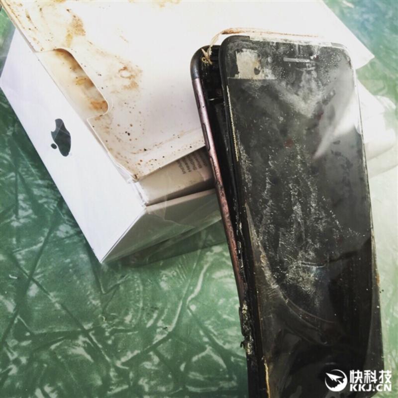 Así terminó el iPhone 7