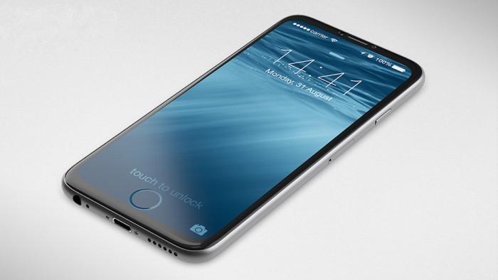 iPhone 8 apostaría por una pantalla completa en el frontal